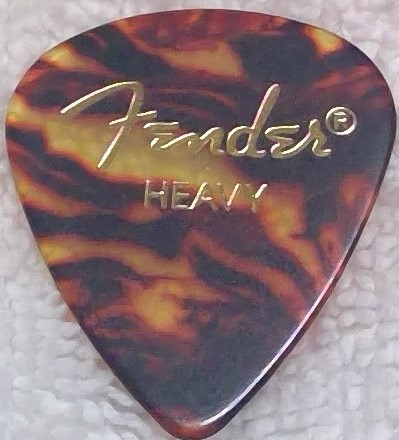 Fender Classic Celluloid, Standard, Heavy